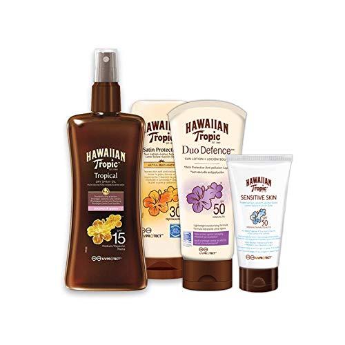 Hawaiian Tropic Pack - Sun Protection and Skin Care Kit