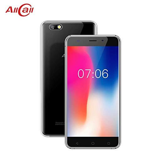 feiledi Trade Entsperrt 3G Android 7.0 Smartphone, AllCall Madrid 3G-Mobiltelefon 5,5-Zoll-Pixel 1280x720 HD-Viererkabelkern 1,3 GHz 1 GB RAM 8 GB ROM 8MP + 2MP-Kameras - Schwarz