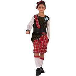 Atosa - Disfraz de escoces para niño, talla 116 (8422259061298)