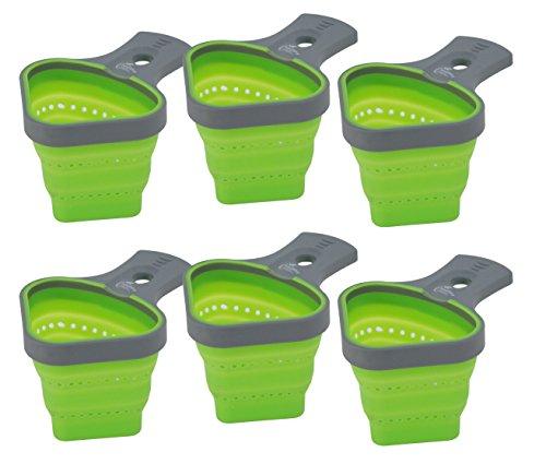 Jokari 6 Count Healthy Steps Portion Control Pasta Basket, Multicolor by JOKARI