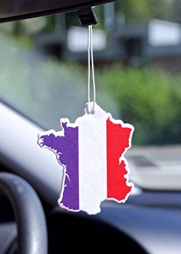 Auto Voiture Désodorisant Odeur de Citron Drapeau France Souvenir