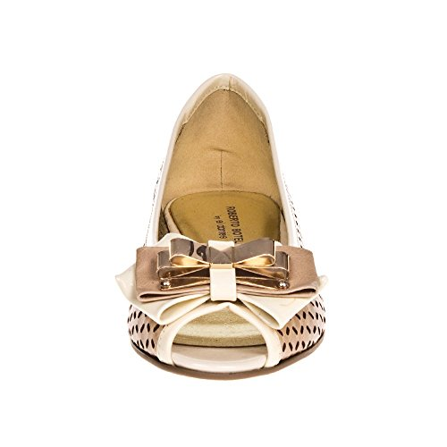ROBERTO BOTELLA - <p>     Ballerine plate chaussures    </p>     Beige
