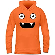 Sudadera con capucha de mujer Monster Face by Shirtcity