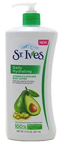 St. Ives Daily Hydrating Vitamin E Body Lotion, 621ml