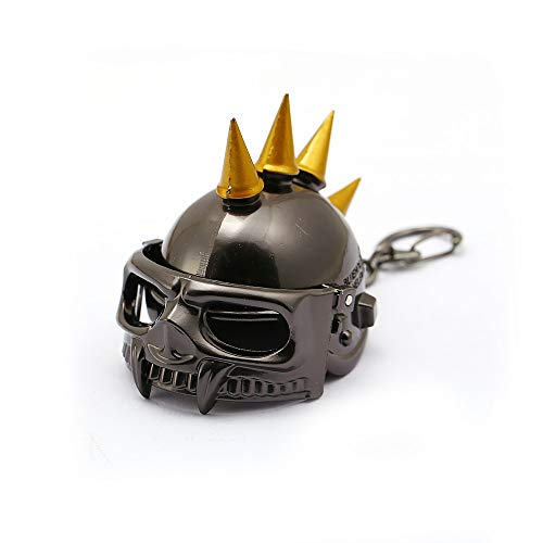 VAWAA Jeu Bijoux Champ De Bataille Pubg Casque Keychains 3D Open Keyrings Holder Level 3 Helmet Men Valentine Chaveiro