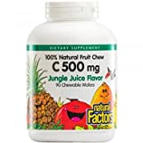 Best Factores naturales factores naturales Vitamina C Vitaminas - Natural Factors - Vitamin C 500mg, 100% Natural Review