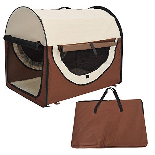 Outsunny scatola borsa trasportino per cani animali for Trasportino per cani amazon