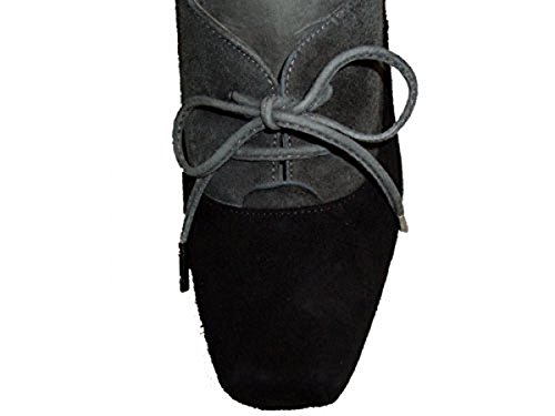 Ankle Damen Velour Schwarz grau Lopez r405 Pura Boot schwarz 851 27 Wildleder 4BaZ6xwq