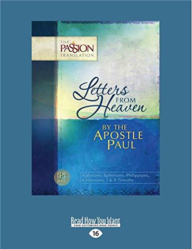 Letters from Heaven: By the Apostle Paul