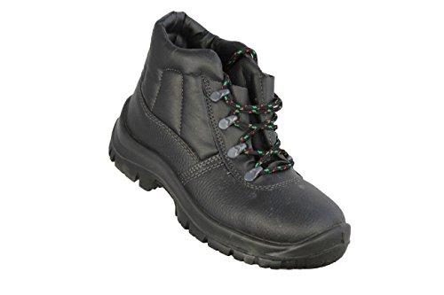 Lendários Palermo O1 Src Oro Sapatos Profissionais Sapatos De Segurança De Alta Preta