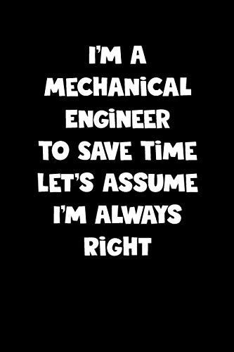 Mechanical Engineer Notebook - Mechanical Engineer Diary - Mechanical Engineer Journal - Funny Gift for Mechanical Engineer: Medium College-Ruled Journey Diary, 110 page, Lined, 6x9 (15.2 x 22.9 cm)