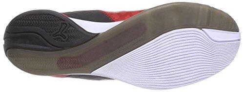 Puma evoSPEED 1.4 SF, Unisex-Erwachsene Sneakers Rot (rosso corsa-white-black 02)
