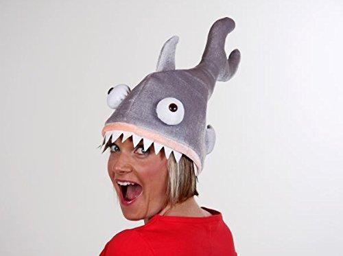 Tiermütze Hai (Kostüm Kopf Haifisch)
