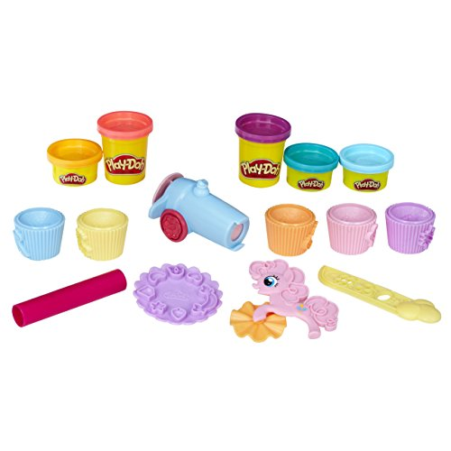 Hasbro Play-Doh B9324EU4 - My Little Pony Pinkie Pies Cupcake Party, Knete (Pony-party-spiele Little My)