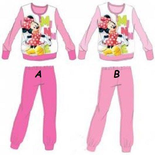 Pyjama Fleece lang Minnie Disney (langärmlig + Hose) * * * * NEU * * * * - Fleece Pyjama-hosen