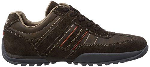 Dockers by Gerli 36HT001, Low-Top Sneaker uomo Marrone (Cafe 320)
