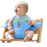 Baby-Essgurt Sicherheitssitz Mit Esstisch-Sicherheitsgurt Baby-Esstisch Zusatz Band,Blue