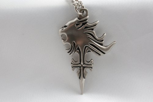 uall Lionheart wind necklace / necklace with bonus cosplay (japan import) (Squall Ff8 Kostüm)