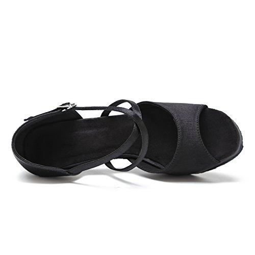 Minitoo , Salle de bal femme Black-8cm Heel