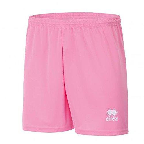 NEW SKIN AD Trainingsshorts (kurz) von Erreà · ERWACHSENE Herren Damen Trainingshose (sehr leicht) · REGULAR-FIT Bermuda-Sport-Hose (bequem) für Teamsport · PERFORMANCE Jogginghose (luftig) aus elastischem Material · (Farbe rosa, Größe XL) (Spiel-tag-warm-up-hose)