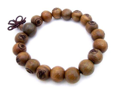 agathe-creation-handmade-buddhist-prayer-bead-bracelet-sculpted-sandalwood-beads-with-95-mm-diameter