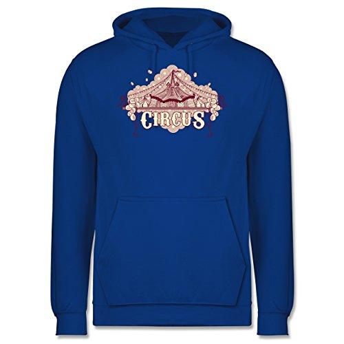 Statement Shirts - Circus - Männer Premium Kapuzenpullover / Hoodie Royalblau