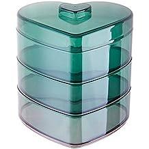 Caja de plástico de la galleta caja de fruta de la caja de almacenamiento del caramelo