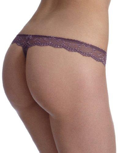 Triumph Damen String Elegant Angel Curves Str Violett (BLACK PLUM (C8))