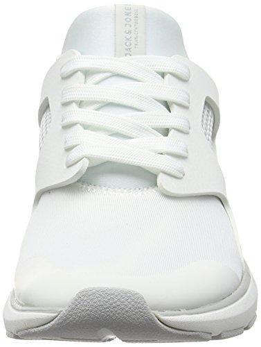 Jack & Jones Hatton, Baskets Basses Homme Blanc - Blanc