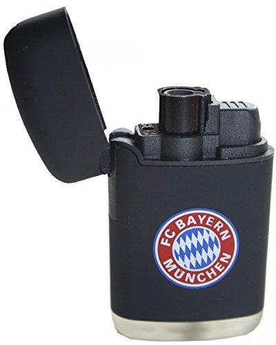Feuerzeug FC Bayern München | Easy Torch Rubber 2 Stück schwarz