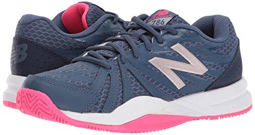 NEW balance86V2–Chaussures de tennis bleu foncé