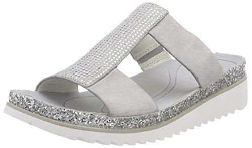 Gabor Shoes Damen Jollys Pantoletten, Grau (Stone Glitter), 37.5 EU