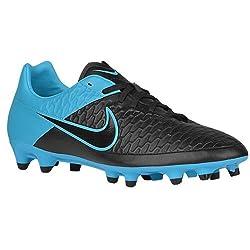 Nike Magista Onda FG Fußballschuhe, Schwarz(schwarz/blau), 42.5 EU