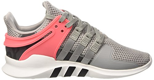 adidas Equipment Support Advanced, Sneakers Basses Homme, Bianco Gris (Mgsogr/cblack/turbo)