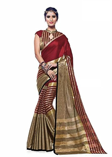 sarees (ESOMIC Women\'s Clothing Saree Today best offers buy online in Low Price Sale Designer Multi Color Free Size Ladies Sari With Blouse Piece)