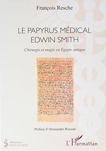 Descargar Libro Papyrus médical Edwin Smith de RESCHE FRANCOIS