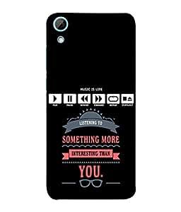 FUSON Designer Back Case Cover for HTC Desire 828 Dual Sim (Illustration Inspiration Change Motivate )