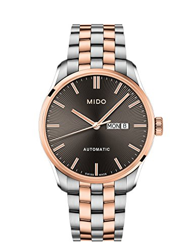 Mido Men's Belluna II 42.5mm Steel Case Automatic Watch M024.630.22.061.00