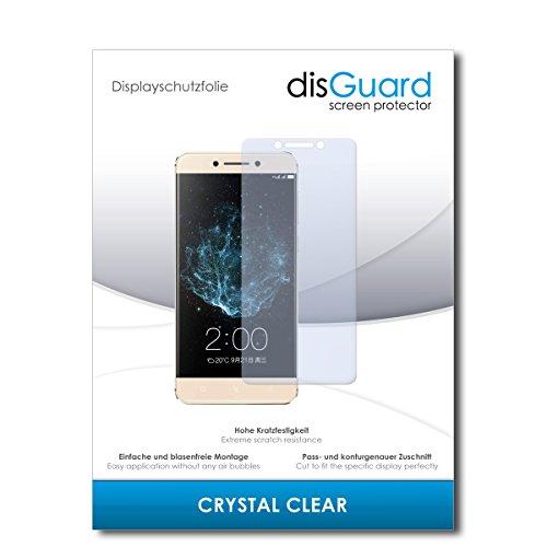 disGuard® Bildschirmschutzfolie [Crystal Clear] kompatibel mit LeEco Le Pro 3 [2 Stück] Kristallklar, Transparent, Unsichtbar, Extrem Kratzfest, Anti-Fingerabdruck - Panzerglas Folie, Schutzfolie