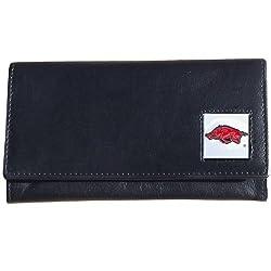 Arkansas Razorbacks Women's Leather Wallet