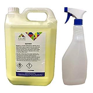 Quango Auto-Shampoo-Politurreiniger, streifenfrei, 5 l + gratis Spray