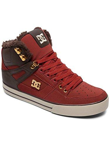 DC Shoes Spartan High WC WNT, Sneakers Hautes Homme Noir - Coffee