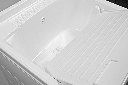 Armadio Lavanderia Esterno : Yellowshop mobile lavatoio lavapanni lavanderia e bagno a due ante