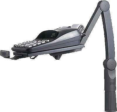 Hansa Telefonschwenkarm TSA/5020004 schwarz Schwarzes Telefon