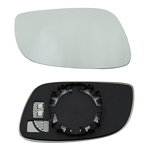 Preisvergleich Produktbild DoctorAuto DR165462 Spiegelglas, Aussenspiegel mit Plastikhalter Heizbar, Rechts