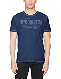Tom Tailor Overdyed Print Tee, T-Shirt Homme