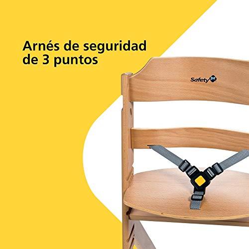 Imagen para Safety 1st TIMBA, Trona de madera para niño, color Natural
