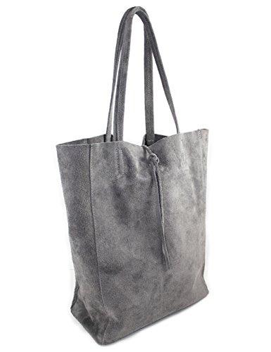 imiloa-leder-shopper-gro-tasche-grau-handtasche-vintage-schultertasche-din-a4-wildleder-lederhandtas