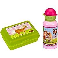 Spiegelburg Mein kleiner Ponyhof 2er Set 13280 12042 Brotdose + Alu Trinkflasche 0,4 l preisvergleich bei kinderzimmerdekopreise.eu