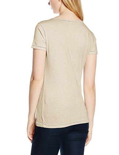 Napapijri Damen T-Shirt Shove Braun (Tower N78)